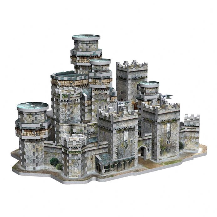 Game of Thrones - Winterfell 3D Puzzle (910pc) | Buy now at The G33Kery - UK Stock - Fast Delivery